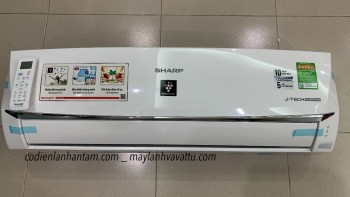 Máy lạnh SHARP Wifi Inverter- AH-XP10WHW (1.0Hp) (43-M0)