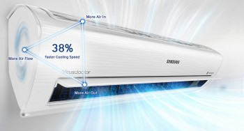 Máy lạnh Samsung AR10KVFSCUR (1.0Hp) Inverter (8.6)